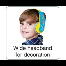 Høretelefoner til børn over 4 år JVC HA-KD5-PE Kids headset, Lilla-1