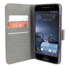 HTC One A9 flipcover Redneck Prima Wallet Folio Sort-1