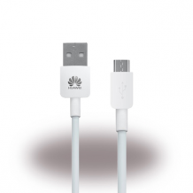 Huawei - Data and Charging Cable - Micro USB - 1m - White-1