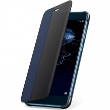 Huawei Flip View Cover P10 Lite : Huawei Flip View Cover P10 Lite Blue-1