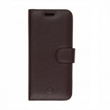 Huawei Honor 8 Lite/P9 Lite 2017 flipcover Redneck Prima Wallet Folio Brun-1