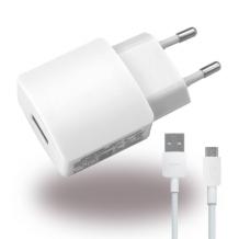 Huawei- HW-050200E3W - Charger / Adapter + microusb - USB - 2000mAh - White-1