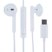 Huawei In-Ear Earphones USB-C with Mic White-1