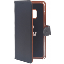 Huawei Mate 20 Lite flipcover Celly Wally Case - Sort-1