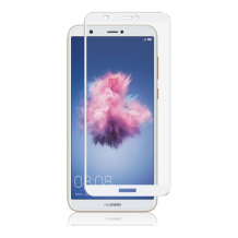 Huawei P Smart, Full-Fit Glass, White-1