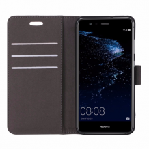 Huawei P10 Lite flipcover Redneck Prima Wallet Folio Brun-1