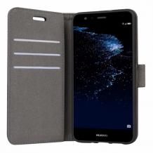 Huawei P10 Lite flipcover Redneck Prima Wallet Folio Sort-1