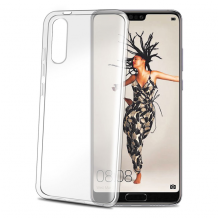 Huawei P20 Celly Gelskin TPU Cover Gennemsigtig-1