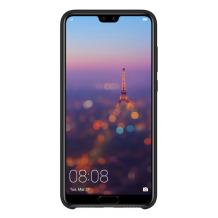 Huawei P20 Silikone Cover - Sort-1
