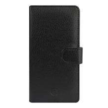 Huawei P8 Lite flipcover Redneck Prima Wallet Folio Sort-1