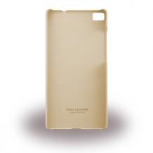 Huawei - PC Hard Cover / Hard Case - Huawei P8 Lite - Brown-1