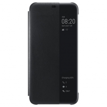 Huawei Smart View Flip Cover til Huawei Mate 20 Lite - Sort-1