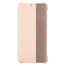 Huawei Smart View Flip Cover til Huawei P20 - Pink / lyserød-1