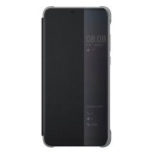 Huawei Smart View Flip Cover til Huawei P20 - Sort-1