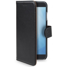 Huawei Y6 (2018) flipcover Celly Wally Case - Sort-1