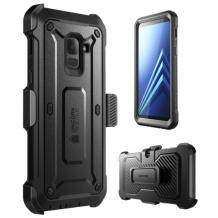 i-Blason Supcase UB Pro Samsung A8 (2018) Black-1