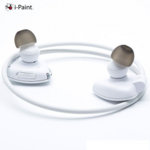 i-Paint Sport Design Trådløst Bluetooth headset med mikrofon Hvid-1