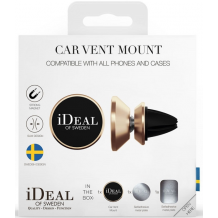 IDEAL CAR  VENT MOUNT UNIVERSAL GOLD-1