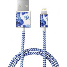 IDEAL FASHION CABLE (LIGHTNING 1M BABY BLUE ORCHID)-1