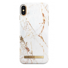 IDEAL FASHION CASE (IPHONE X/XS CARRARA GOLD)-1