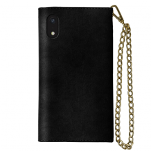 IDEAL MAYFAIR CLUTCH VELVET (IPHONE XR BLACK)-1