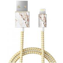 iDeal Fashion Lightning Kabel til iPhone/iPad 1M Carrara Guld