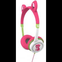 iFrogz Little Rockerz høretelefoner med lav lyd til børn fra 4 år Kattekilling-1