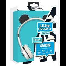 iFrogz Little Rockerz V2 hovedtelefoner med lav lyd til børn fra 4 år Panda-1