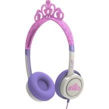 iFrogz Little Rockers V2 hovedtelefoner med lav lyd til børn fra 4 år Prinsesse Tiara