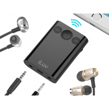iLuv Bluetooth Audio Converter with Splitter Black-1