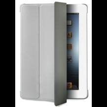 iPad mini 1, 2 & 3 cover, Puro Zeta Slim Cover med stander - Grå-1