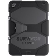 "Griffin Survivor All-Terrain cover til iPad Air 2 og iPad pro 9.7"" Sort"