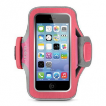 iPhone 5/5S/5C/SE armbånd, Belkin Slim-Fit Plus, Fuschia-1