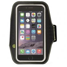 "iPhone 6 (4.7"") Armbånd, Griffin Trainer Sport Armband, Sort"