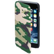 Hama Booklet Flipcover til iPhone 6 / 6S Camouflage Grøn