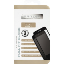 iPhone 7 / 6 / 6S Panzer Tempered Glass Full-Fit Sort-1