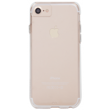 iPhone 8 / 7 / 6S Cover, Case-mate Barely There, Gennemsigtigt-1
