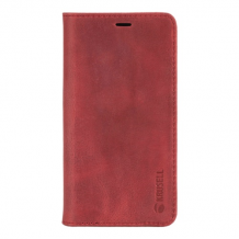 iPhone X, Sunne, 4 Card Wallet, Red-1