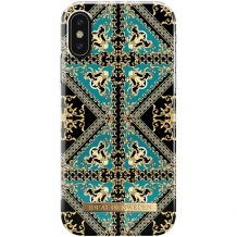iPhone X/XS Cover iDeal Fashion Case Baroque Ornament-1