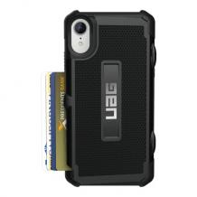 iPhone XR, Trooper Card cover, sort-1