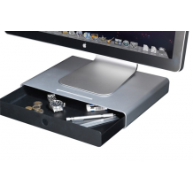 Just Mobile Drawer - Smart storage for screen, computer or laptop.-1