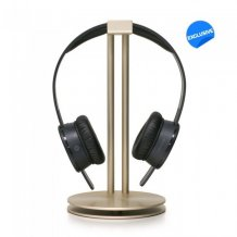Just Mobile Headstand - Designed aluminum rack for your headphones. Gold-1