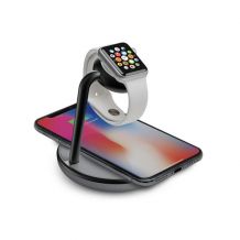 Kanex GoPower Watch Stand with Qi Charging for your phone and Apple watch-1