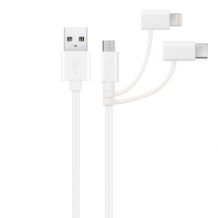 KEY POWER COMBO CABLE 3IN1 (1M MICRO, LIGHTNING & USB-C)-1