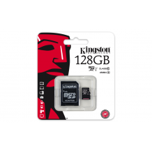 KINGSTON 128GB microSDXC Class10 UHS-I-1