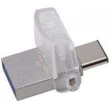 Kingston DataTraveler microDuo 3C 32GB Type-C til USB
