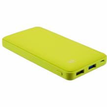 Kit - Kit Fresh Powerbank / External Battery - Micro-USB - green - 12000mAh-1