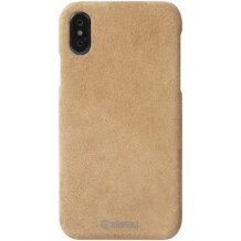 Krusell Broby Cover iPhone XS Max Cognac-1