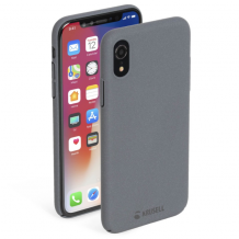 Krusell Sandby Cover iPhone XR Stone-1