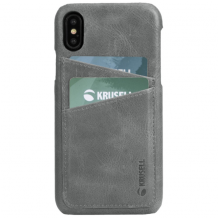 KRUSELL SUNNE 2 CARD COVER (IPHONE XS MAX VINTAGE GREY)-1